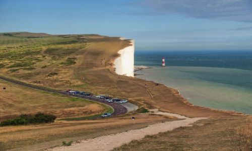 Zdjęcie ANGLIA / East Sussex / Eastbourne / Widok z Belle Tout