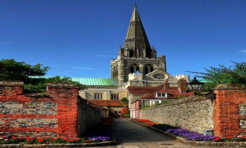 Zdjęcie ANGLIA / West Sussex / Chichester / Zaułek