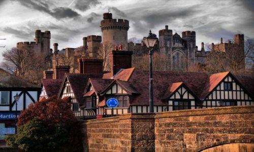 Zdjecie ANGLIA / West Sussex / Arundel / Zamek w Arundel