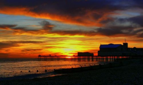 Zdjecie ANGLIA / West Sussex / Bognor Regis / Sunset