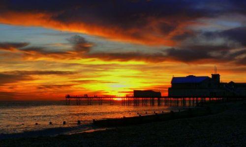 Zdjęcie ANGLIA / West Sussex / Bognor Regis / Sunset