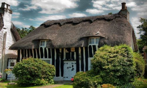 Zdjęcie ANGLIA / West Sussex / Bognor Regis / English Cottage
