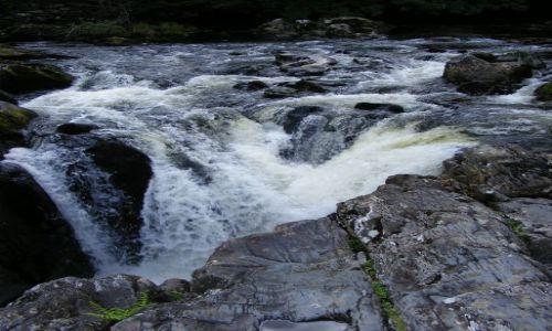 Zdjecie ANGLIA / - / Rhaedr Ewynnol / mały wodospad