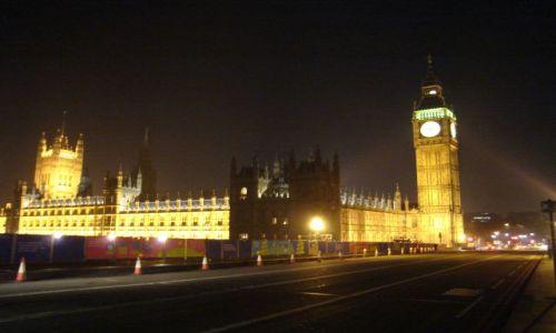 Zdjecie ANGLIA / brak / Londyn / Londyn - nocą