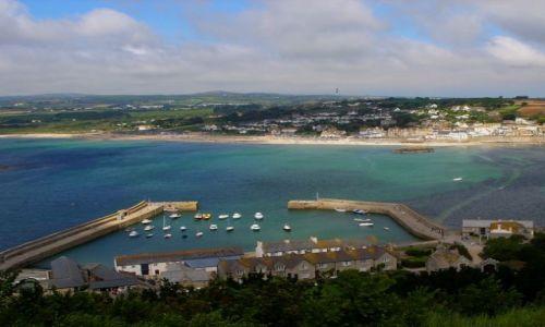 Zdjęcie ANGLIA / Cornwall / St Michaels Mount / Marazion Beach 2