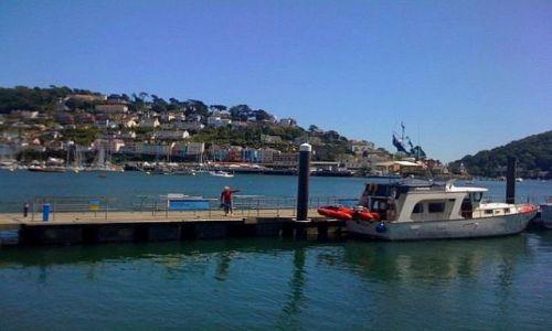 Zdjęcie ANGLIA / Devon / Dartmouth / Port