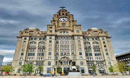 Zdjęcie ANGLIA / Liverpool / Liverpool / Liver Building - pierwszy wieżowiec ever