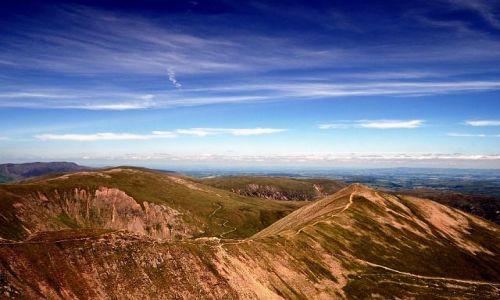 Zdjęcie ANGLIA / Cumbria / Lake District / Z drogi na Helvellyn