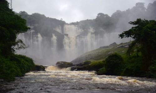 Zdjecie ANGOLA / Malanje / Calandula / Wodospad Calandula