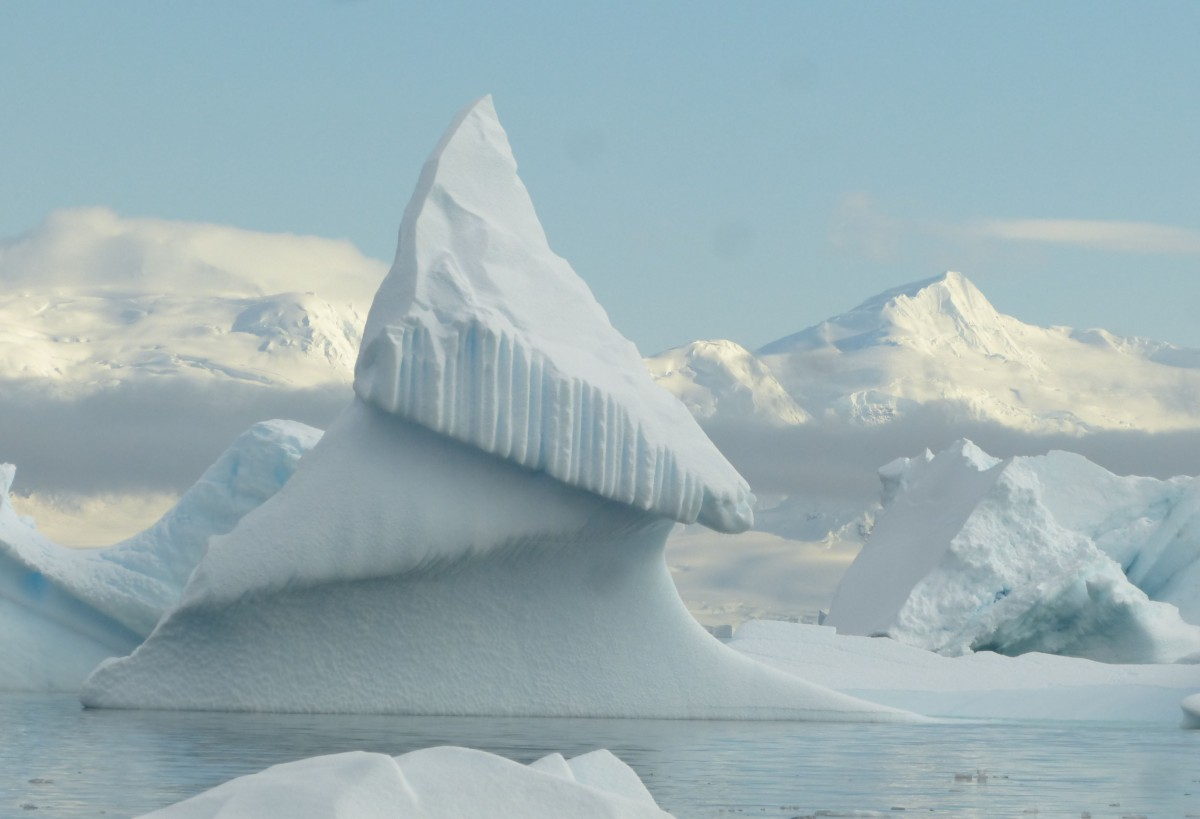 Zdjęcia: Paradise Bay, Antarktyda, Piramida lodowa, ANTARKTYDA