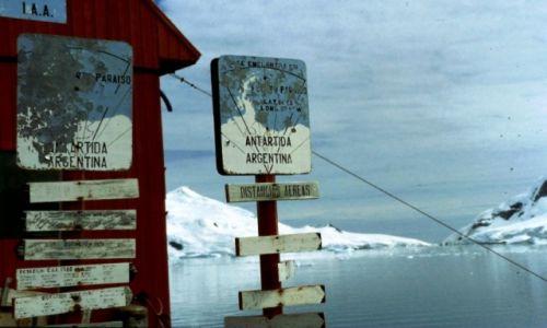 Zdjęcie ANTARKTYDA / na półkuli południowej / Argentynska Stacja Polarna / Antarktyda