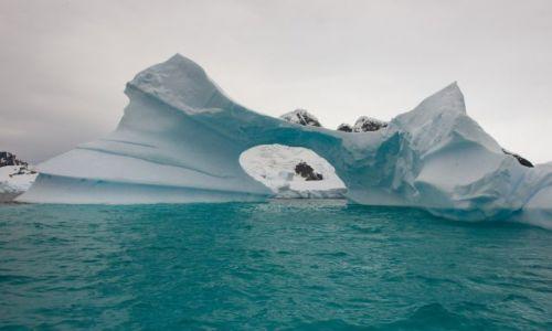 Zdjęcie ANTARKTYDA / Półwysep Antarktyczny / Pleneau Bay, Aleja Lodowców /