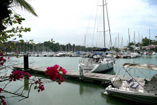 Zdjęcia: south coast, Antigua, Jachty w English Harbour, ANTIGUA I BARBUDA