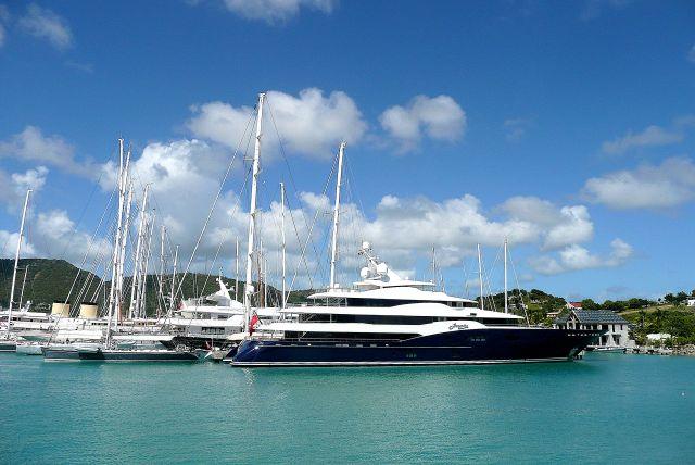 Zdjęcia: south coast, Antigua, Jachty w English Harbour 2, ANTIGUA I BARBUDA