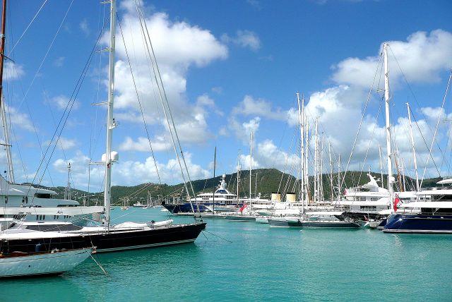 Zdjęcia: south coast, Antigua, Jachty w English Harbour 3, ANTIGUA I BARBUDA