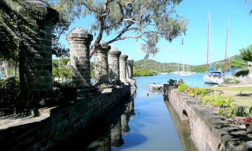 Zdjęcie ANTIGUA I BARBUDA / Antigua / Nelson Dock Yard / Doki Admirała Nelsona