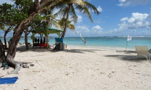 Zdjęcie ANTIGUA I BARBUDA / Karaiby / Guadelupe / plaża na Guadelupe
