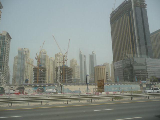 Zdjęcia: Zjednoczone Emiraty Arabskie, Dubaj  , Największy plac budowy, ARABIA SAUDYJSKA