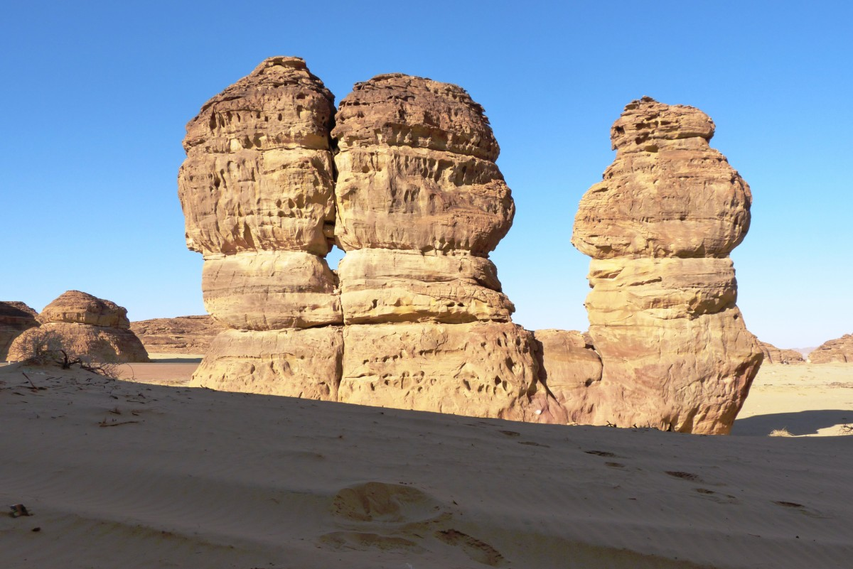 Zdjęcia: Mada-in-Salih, Al Ula, Trojaczki, ARABIA SAUDYJSKA