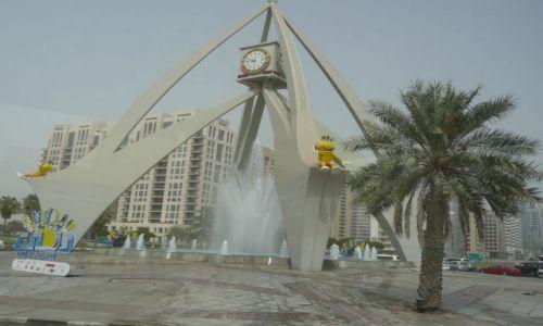Zdjecie ARABIA SAUDYJSKA / Dubaj / gdzies w miescie / Zjednoczone emiraty arabskie