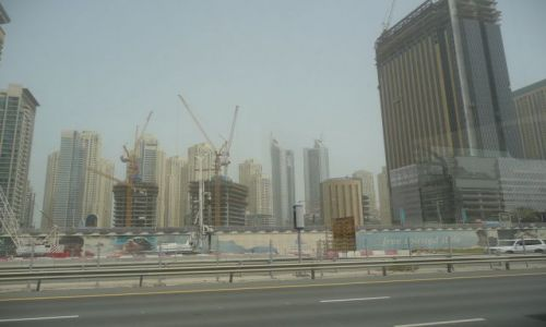 Zdjecie ARABIA SAUDYJSKA / Dubaj   / Zjednoczone Emiraty Arabskie / Największy plac budowy