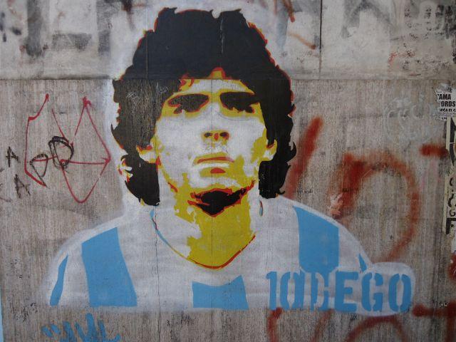 Zdjęcia: dzielnica Boca, Buenos Aires, Młody Diego, ARGENTYNA