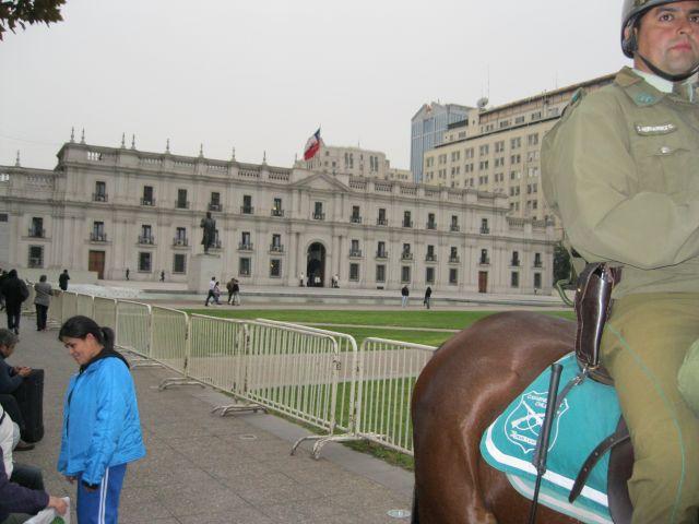 Zdjęcia: Santiago de Chile, Pałac prezydencki - Santiago ed Chile  -  Chile, CHILE
