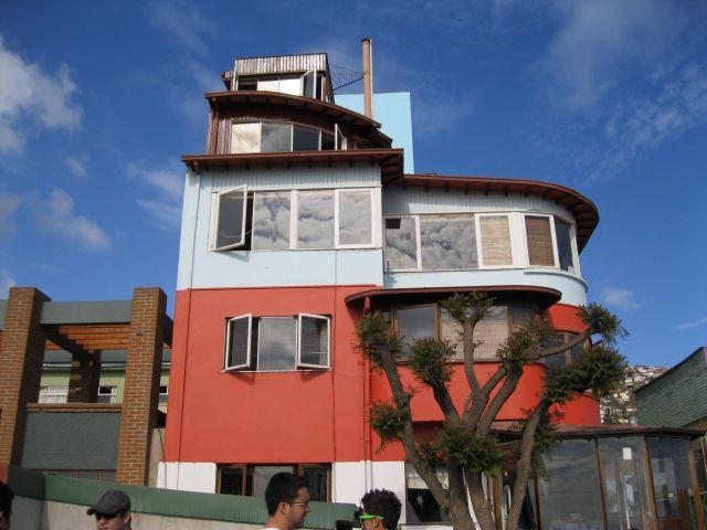 Zdjęcia: Valparaizo Chile, -Valparaizo, Willa Pablo Nerudy  -  Chile, CHILE