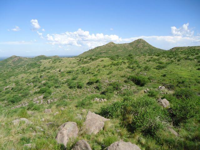Zdjęcia: Droga Santa Catalina - Cosquin, Cordoba, Krajobraz Sierry, ARGENTYNA