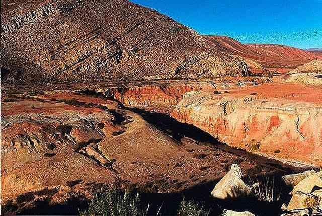 Zdjęcia: kanion  potoku Condori, Puna czyli Altiplano, Magiczna Puna, ARGENTYNA