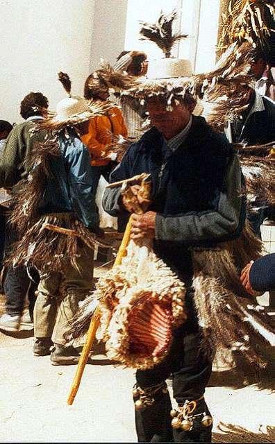 Zdj�cia: Casabindo - swieto koscielne WN Marii Panny, Puna czyli Altiplano, magiczna Puna, ARGENTYNA
