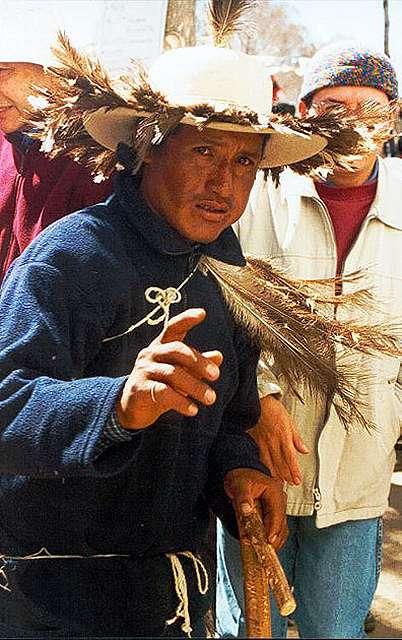 """Zdj�cia: Casabindo - jeden ze """"strusi"""" Pachamamy  nie zyczy sobie robienia zdjec..., Puna czyli Altiplano, Magiczna Puna, ARGENTYNA"""