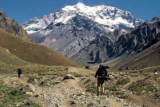 Zdjęcia: Wyprawa Aconcagua, Andy, Aconcagua 6962 m , ARGENTYNA