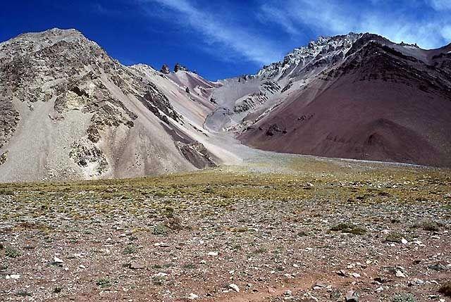 Zdj�cia: Wyprawa Aconcagua, Andy, W dolinie Horcones..., ARGENTYNA