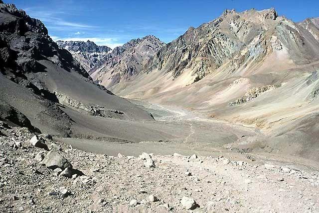 Zdjęcia: Wyprawa Aconcagua, Andy, Dolina Horcones..., ARGENTYNA