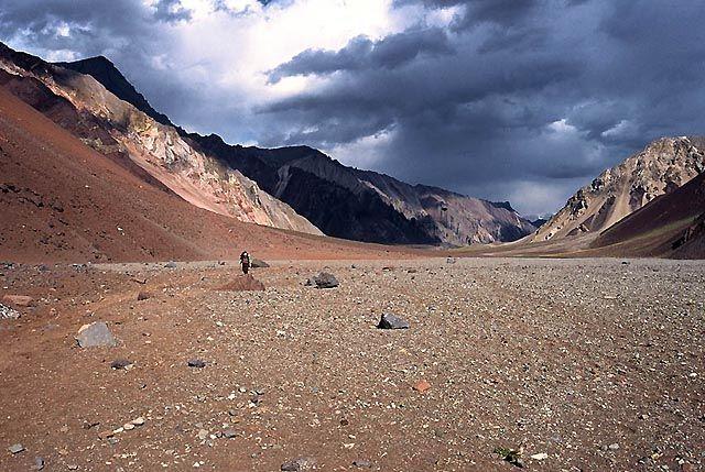 Zdjęcia: Wyprawa Aconcagua, Andy, Dolina horcones...., ARGENTYNA