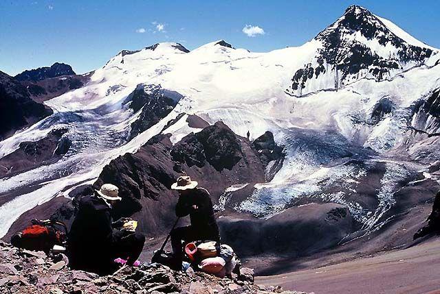 Zdjęcia: Wyprawa Aconcagua, Andy, Starsi panowie dwaj ..., ARGENTYNA