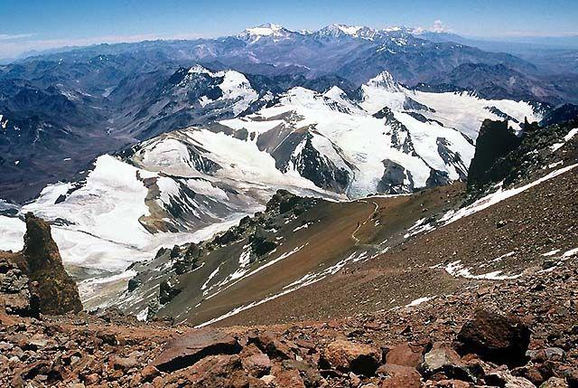 Zdjęcia: Wyprawa Aconcagua, Andy, W drodze na szczyt...., ARGENTYNA