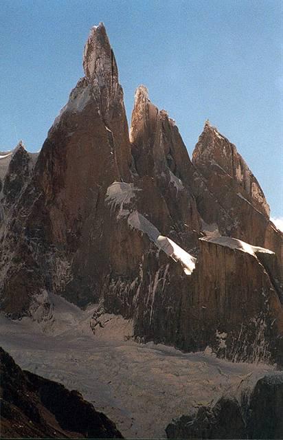 Zdjęcia: masyw Cerro Torre, Patagonia, iglice, ARGENTYNA