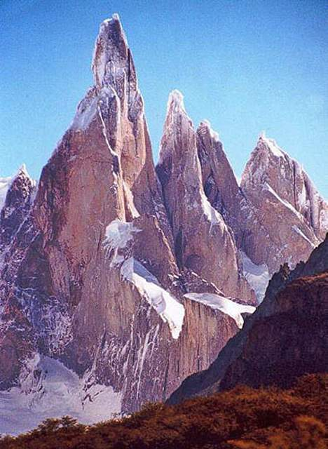 Zdjęcia: Cerro Torre - najwyzsze wyzwanie dla wspinaczy, Patagonia, niemozliwa gòra, ARGENTYNA