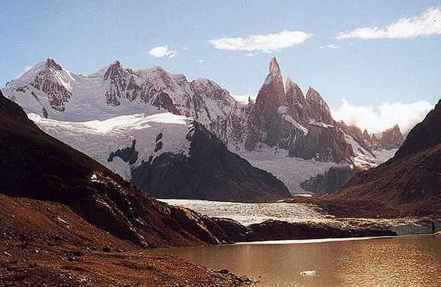 Zdjęcia: znad jez. Torre, Patagonia, masyw Cerro Torre, ARGENTYNA