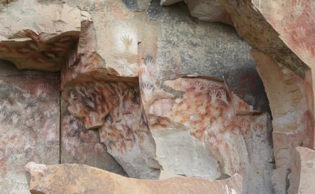 Zdjęcia: Cueva de las Manos, Santa Cruz, Cueva de las Manos, ARGENTYNA