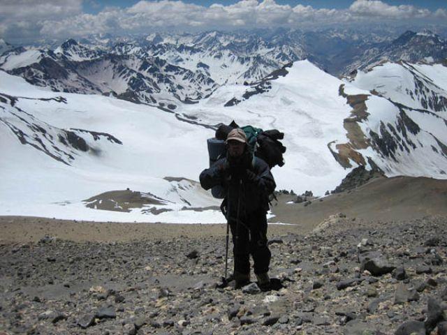 Zdjęcia: Aconcgua, Wejscie na Aconcagua 6962m, ARGENTYNA