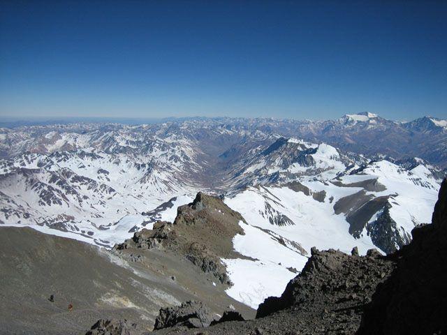Zdjęcia: Zdjecie z powyzej 6500m, Aconcagua, Wejscie na Aconcagua, ARGENTYNA