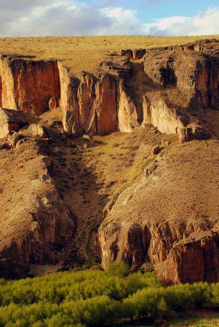 Zdjęcia: Cueva de las Manos, Patagonia , ciut wawozu , ARGENTYNA