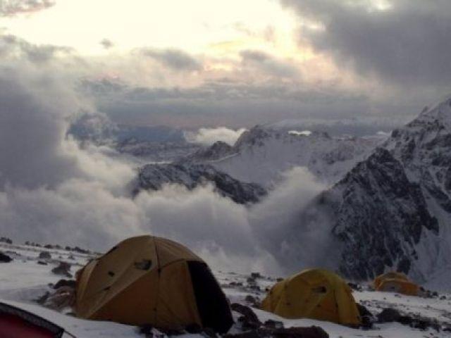 Zdjęcia: Aconcagua, Camp Alaska, ARGENTYNA
