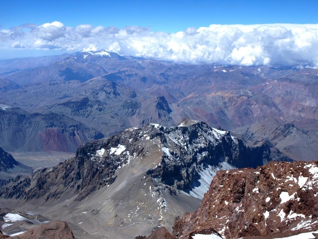 Zdjęcia: Aconcagua, Andy, Na szczycie, ARGENTYNA