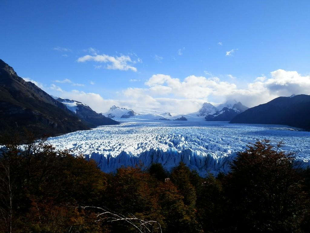 Zdjęcia: Lago Argentina, Patagonia, Płynie, płynie lód ku wodzie, ARGENTYNA