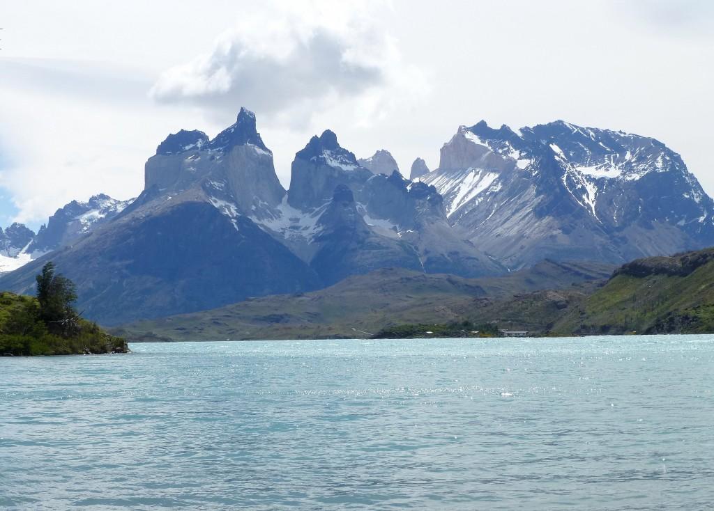 Zdjęcia: Lago Pehoe, Patagonia, nad  Lago Pehoe, ARGENTYNA
