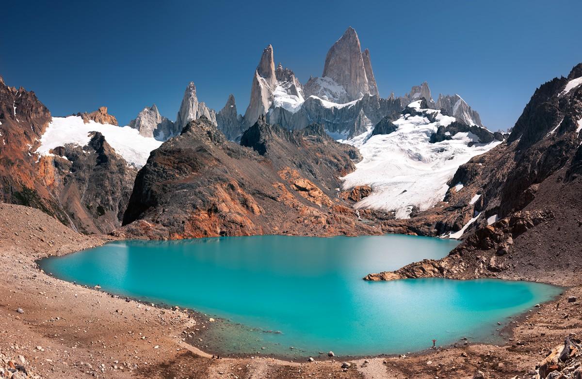 Zdjęcia: Laguna de Los Tres, Patagonia, Laguna, ARGENTYNA